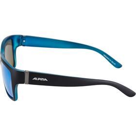 Alpina Kacey Okulary rowerowe, czarny/niebieski